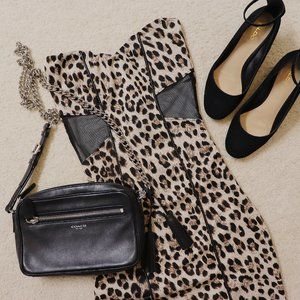 3/$25 NWOT Animal Leopard Print Party Body Dress M
